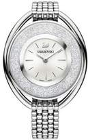 Swarovski Crystalline Stainless Steel Oval Bracelet Watch