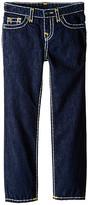 True Religion Geno Contrast Super T Jeans in Rinse/Gold (Toddler/Little Kids)