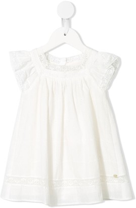 Tartine et Chocolat Lace Frill Dress