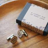 Kutuu 'Touch Wood' Cufflinks