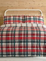 M&Co Checked duvet set