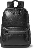 Lanvin Creased-leather Backpack