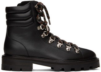 Jimmy Choo Black Eshe Hiking Boots