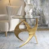 Uttermost Graciano Accent Table in Gold
