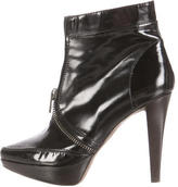 Proenza Schouler Leather Pointed-Toe Ankle Boots