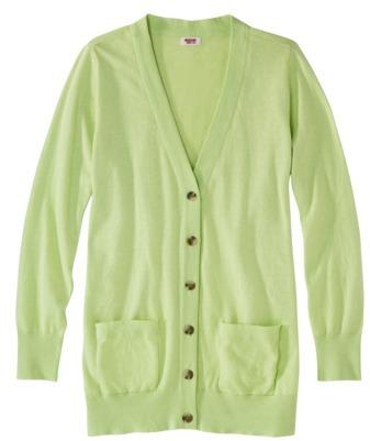 Mossimo Women's Plus-Size Long-Sleeve Boyfriend Cardigan - Assorted Colors