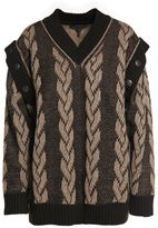 Marc Jacobs Knitted Cotton And Cashmere-blend Sweater