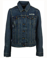 Levi's Women's Seattle Seahawks Denim Trucker Jacket