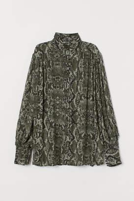 H&M Airy chiffon blouse
