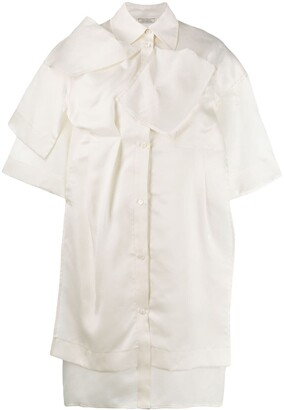 Nina Ricci Oversized Shirt Dress