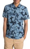 Men's Quiksilver Waterman Collection Wake Idyll Print Sport Shirt