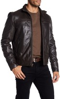 Rogue Straight Bottom Leather Jacket