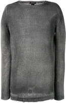 Avant Toi crew neck jumper - men - Linen/Flax/Polyamide - S