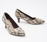 Clarks Collection Pointy Toe Pumps - Linvale Sage