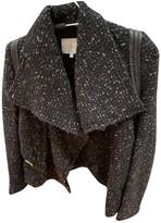 IRO Black Wool Leather jackets