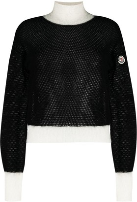 Moncler Two-Tone Knitted Jumper