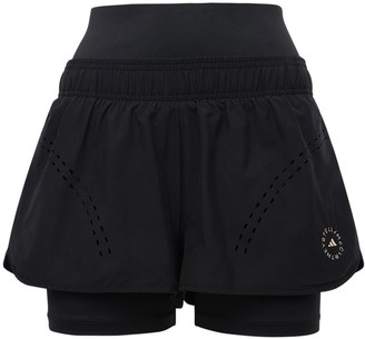adidas by Stella McCartney Layered Truepur Tech Shorts