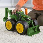 Tomy John Deere Monster Treads 2 Scoop Tractor by