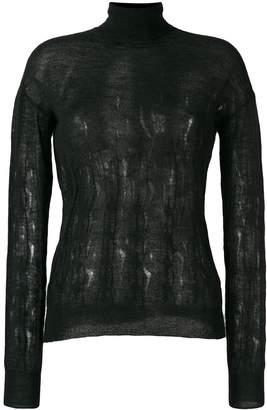 Nina Ricci knitted roll neck jumper