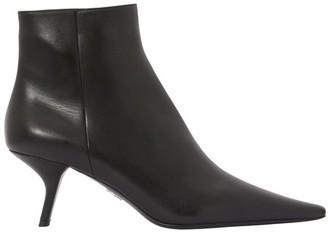 Prada Coma ankle boots