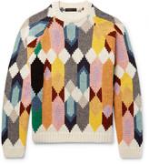 Prada Shetland Wool Sweater