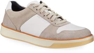 Cole Haan Men's Grand Crosscourt Mixed Leather Sneakers