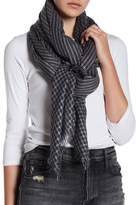 Joe Fresh Stripe Fringe Scarf