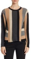 Akris Punto Striped Cashmere & Wool Pullover