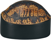 OKA Faux Tortoiseshell Lidded Pot, Small