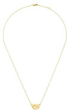 Dinh Van 18K Yellow Gold Menottes Pendant Necklace, 16.5
