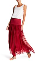 Luma Convertible Silk Midi Skirt