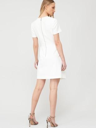 Ted Baker Marimel Short Sleeve Wrap Dress - White
