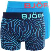 Björn Borg Layer 2 Pack Shorts Peacoat