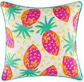 Kas Wild Strawberries Square Cushion