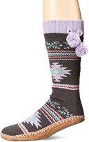 Muk Luks Women's Socks Slipper