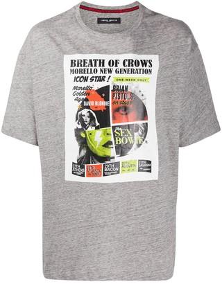 Frankie Morello poster-print T-shirt