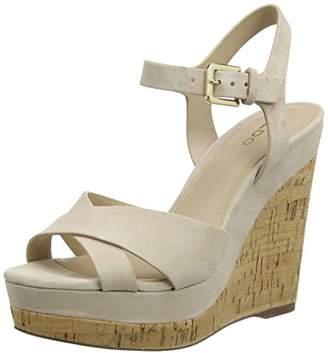 Aldo Women Madyson Ankle Strap Sandals,7 UK (40 EU)