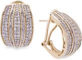 Wrapped in Love Diamond Hoop Earrings (2 ct. t.w.) in 14k Gold