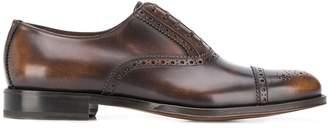 Salvatore Ferragamo brogue detailing Oxford shoes
