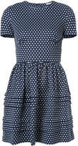 Miu Miu polka dot mini dress