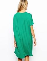 Asos T-Shirt Dress With Short Sleeves