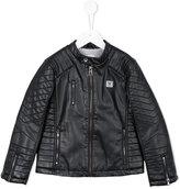Armani Junior biker jacket - kids - Viscose - 4 yrs