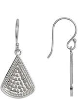 Anna Beck Sterling Silver Fan Drop Earrings