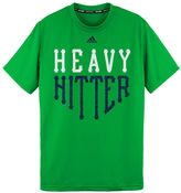 "adidas Boys 8-20 Climalite ""Heavy Hitter"" Home Plate Tee"