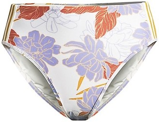 L-Space Paloma Floral Snyder Floral Bikini Bottom