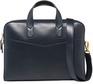 Dunhill Men's Duke Single-Document Leather Briefcase