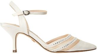 Nina Belicia Ivory Satin Heeled Shoe