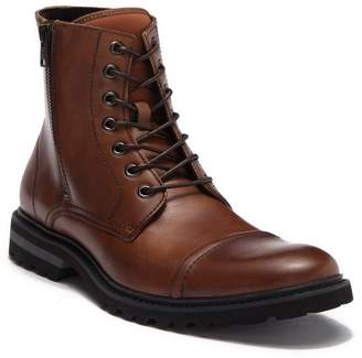 Kenneth Cole Reaction Daxten Leather Lace-Up Boot