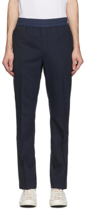 Coach 1941 Navy Wool Pleated Trousers
