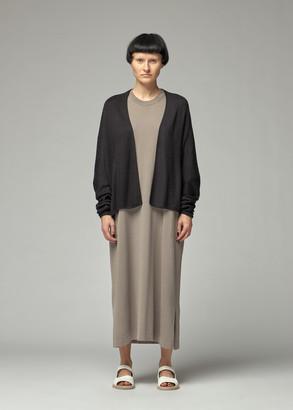 Oyuna Women's Oversized Cardigan Sweater in Black